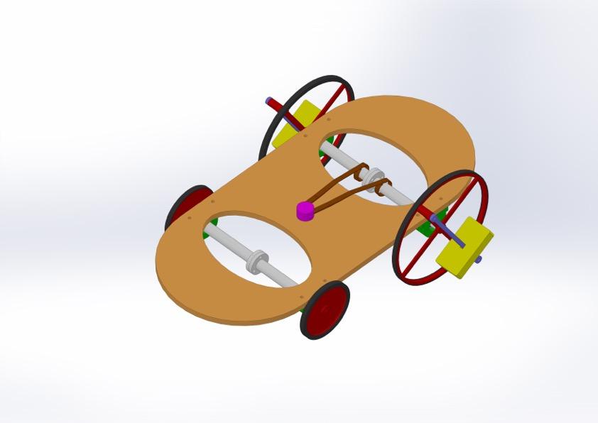 ESQUEMA auto con rueda inercial