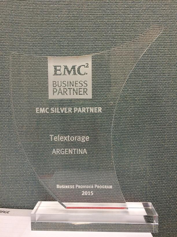 EMC Silver Partner para TelexTorage