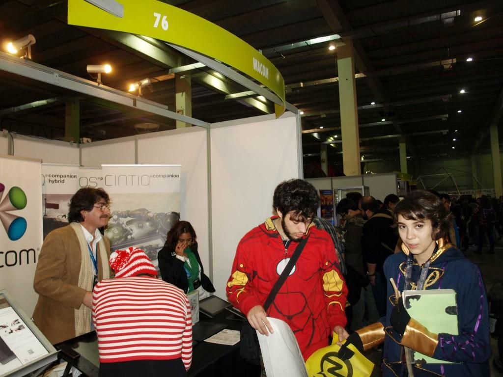 Wacom en la Cómic Con Chile 2015