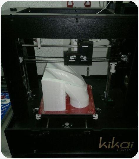 Impresión 3D Canalizador Frenos